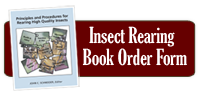 Insect Rearing Book Form
